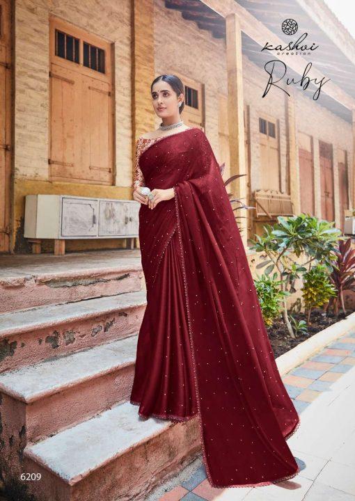 Kashvi Ruby by Lt Fabrics Saree Sari Wholesale Catalog 10 Pcs 17 510x720 - Kashvi Ruby by Lt Fabrics Saree Sari Wholesale Catalog 10 Pcs