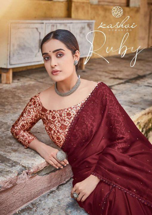 Kashvi Ruby by Lt Fabrics Saree Sari Wholesale Catalog 10 Pcs 2 510x720 - Kashvi Ruby by Lt Fabrics Saree Sari Wholesale Catalog 10 Pcs