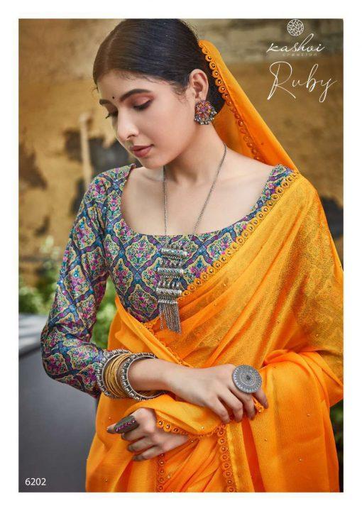 Kashvi Ruby by Lt Fabrics Saree Sari Wholesale Catalog 10 Pcs 5 510x720 - Kashvi Ruby by Lt Fabrics Saree Sari Wholesale Catalog 10 Pcs