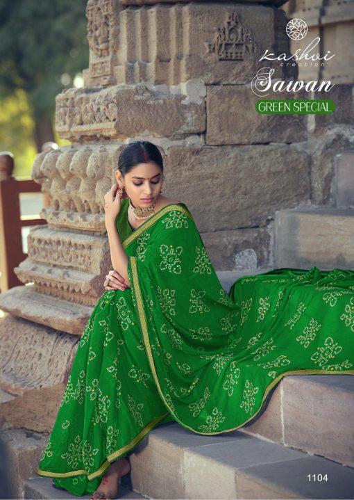 Kashvi Sawan Green by Lt Fabrics Saree Sari Wholesale Catalog 10 Pcs 10 510x719 - Kashvi Sawan Green by Lt Fabrics Saree Sari Wholesale Catalog 10 Pcs