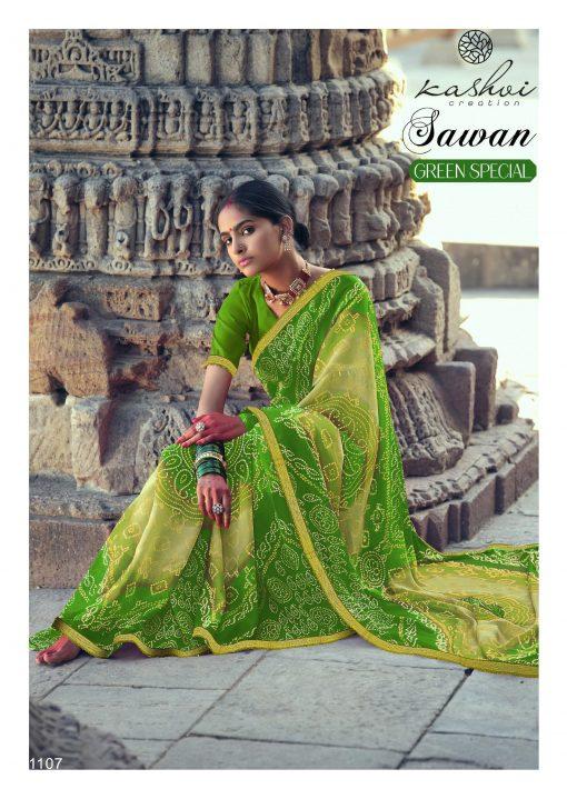 Kashvi Sawan Green by Lt Fabrics Saree Sari Wholesale Catalog 10 Pcs 16 510x719 - Kashvi Sawan Green by Lt Fabrics Saree Sari Wholesale Catalog 10 Pcs