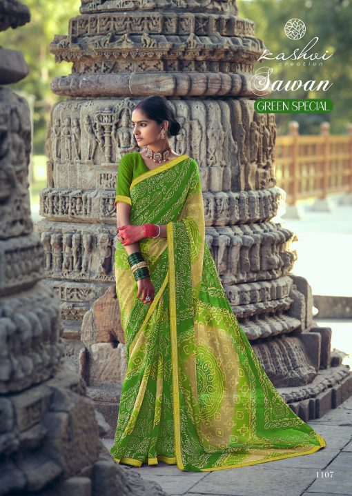 Kashvi Sawan Green by Lt Fabrics Saree Sari Wholesale Catalog 10 Pcs 17 510x719 - Kashvi Sawan Green by Lt Fabrics Saree Sari Wholesale Catalog 10 Pcs