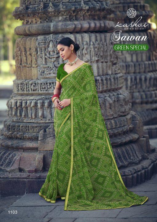 Kashvi Sawan Green by Lt Fabrics Saree Sari Wholesale Catalog 10 Pcs 8 510x719 - Kashvi Sawan Green by Lt Fabrics Saree Sari Wholesale Catalog 10 Pcs