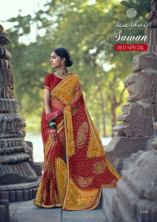 Kashvi Sawan Red by Lt Fabrics Saree Sari Wholesale Catalog 10 Pcs 15 510x719 - Kashvi Sawan Red by Lt Fabrics Saree Sari Wholesale Catalog 10 Pcs
