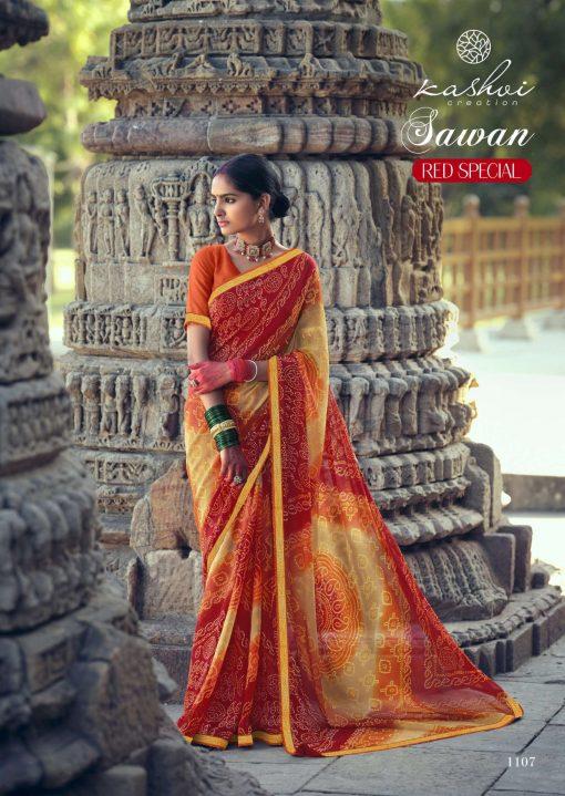 Kashvi Sawan Red by Lt Fabrics Saree Sari Wholesale Catalog 10 Pcs 17 510x719 - Kashvi Sawan Red by Lt Fabrics Saree Sari Wholesale Catalog 10 Pcs