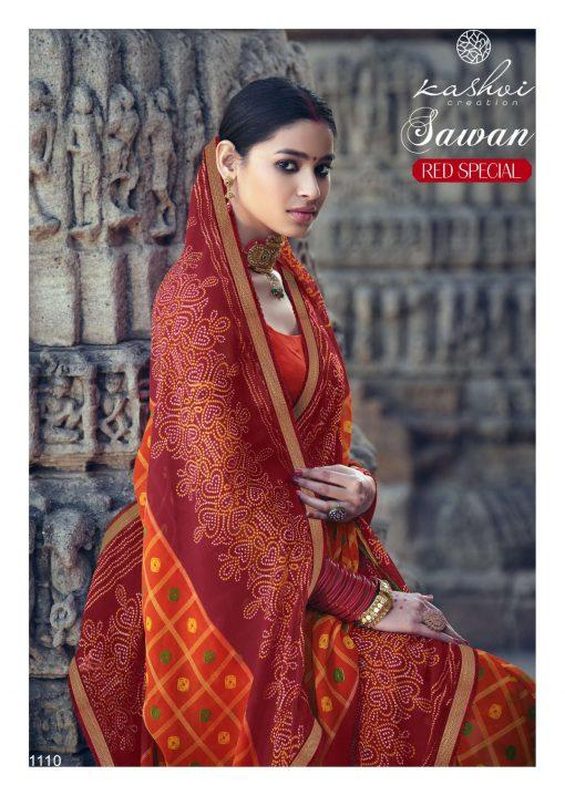 Kashvi Sawan Red by Lt Fabrics Saree Sari Wholesale Catalog 10 Pcs 22 510x719 - Kashvi Sawan Red by Lt Fabrics Saree Sari Wholesale Catalog 10 Pcs