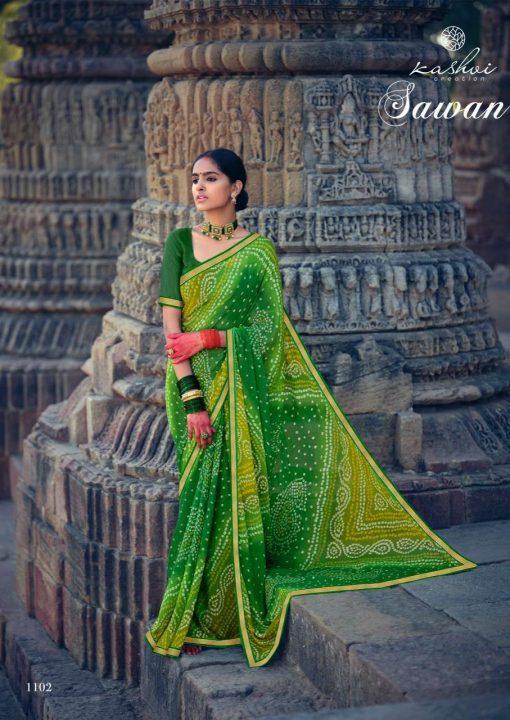 Kashvi Sawan by Lt Fabrics Saree Sari Wholesale Catalog 10 Pcs 1 2 510x720 - Kashvi Sawan by Lt Fabrics Saree Sari Wholesale Catalog 10 Pcs