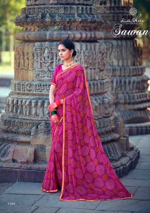 Kashvi Sawan by Lt Fabrics Saree Sari Wholesale Catalog 10 Pcs 10 1 510x720 - Kashvi Sawan by Lt Fabrics Saree Sari Wholesale Catalog 10 Pcs