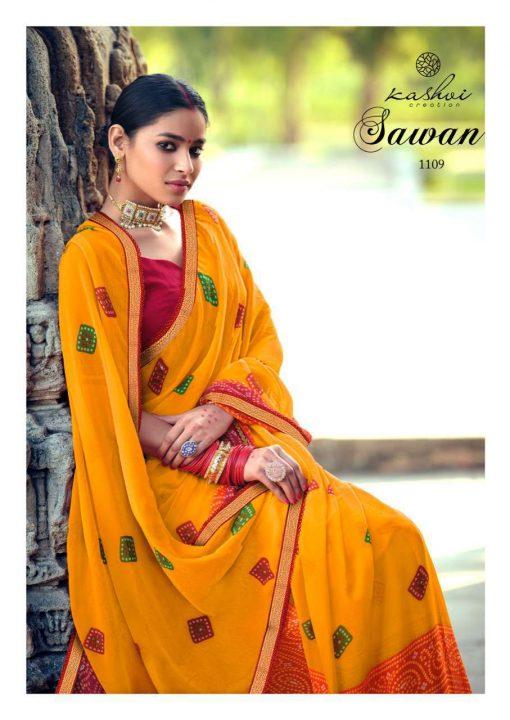 Kashvi Sawan by Lt Fabrics Saree Sari Wholesale Catalog 10 Pcs 14 1 510x720 - Kashvi Sawan by Lt Fabrics Saree Sari Wholesale Catalog 10 Pcs