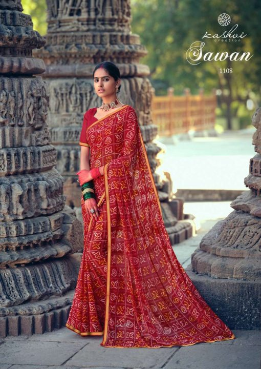 Kashvi Sawan by Lt Fabrics Saree Sari Wholesale Catalog 10 Pcs 17 1 510x720 - Kashvi Sawan by Lt Fabrics Saree Sari Wholesale Catalog 10 Pcs