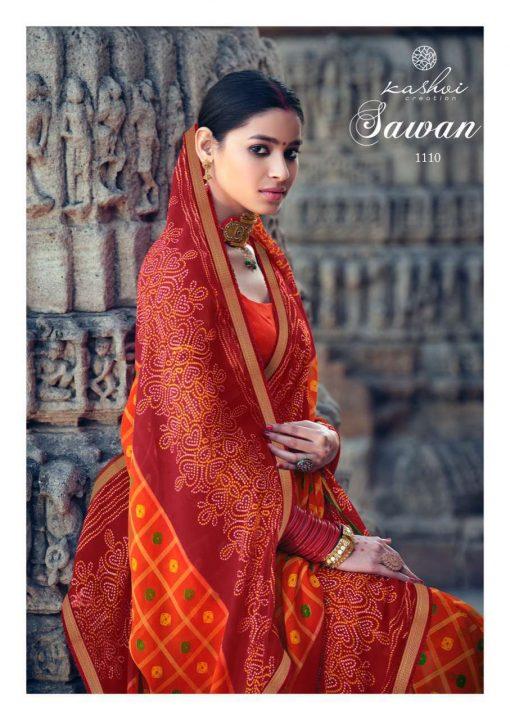 Kashvi Sawan by Lt Fabrics Saree Sari Wholesale Catalog 10 Pcs 18 1 510x720 - Kashvi Sawan by Lt Fabrics Saree Sari Wholesale Catalog 10 Pcs
