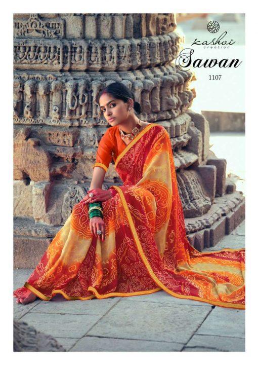 Kashvi Sawan by Lt Fabrics Saree Sari Wholesale Catalog 10 Pcs 19 1 510x720 - Kashvi Sawan by Lt Fabrics Saree Sari Wholesale Catalog 10 Pcs