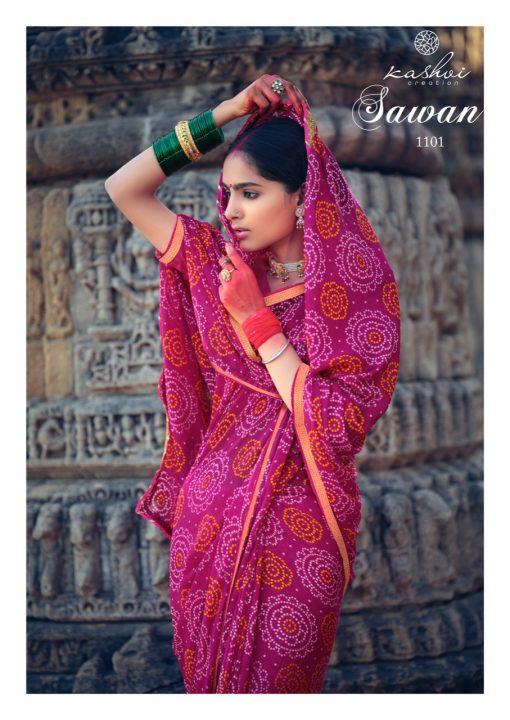 Kashvi Sawan by Lt Fabrics Saree Sari Wholesale Catalog 10 Pcs 5 1 510x720 - Kashvi Sawan by Lt Fabrics Saree Sari Wholesale Catalog 10 Pcs