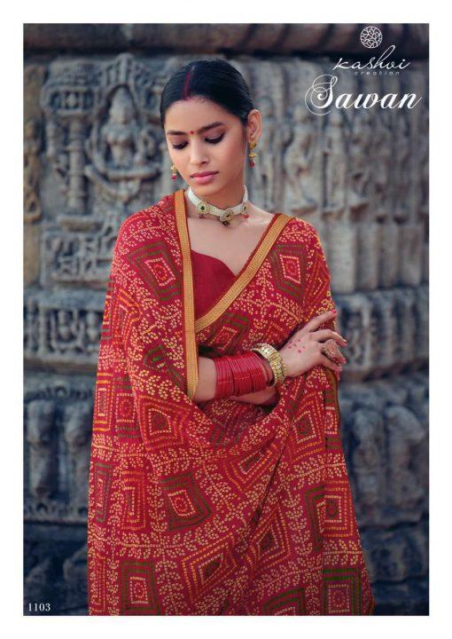 Kashvi Sawan by Lt Fabrics Saree Sari Wholesale Catalog 10 Pcs 7 1 510x720 - Kashvi Sawan by Lt Fabrics Saree Sari Wholesale Catalog 10 Pcs