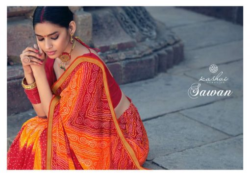 Kashvi Sawan by Lt Fabrics Saree Sari Wholesale Catalog 10 Pcs 8 1 510x359 - Kashvi Sawan by Lt Fabrics Saree Sari Wholesale Catalog 10 Pcs