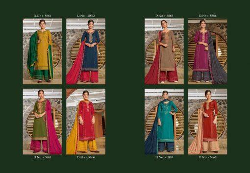 Kessi Safari Vol 5 Salwar Suit Wholesale Catalog 8 Pcs 11SF 510x353 - Kessi Safari Vol 5 Salwar Suit Wholesale Catalog 8 Pcs