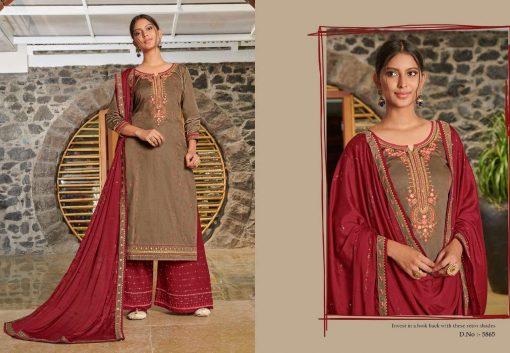 Kessi Safari Vol 5 Salwar Suit Wholesale Catalog 8 Pcs 9SF 510x353 - Kessi Safari Vol 5 Salwar Suit Wholesale Catalog 8 Pcs