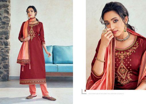 Kessi Silk Shine Vol 5 Salwar Suit Wholesale Catalog 8 Pcs 11 1 510x365 - Kessi Silk Shine Vol 5 Salwar Suit Wholesale Catalog 8 Pcs