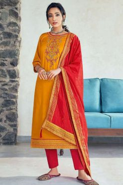 Kessi Silk Shine Vol 5 Salwar Suit Wholesale Catalog 8 Pcs