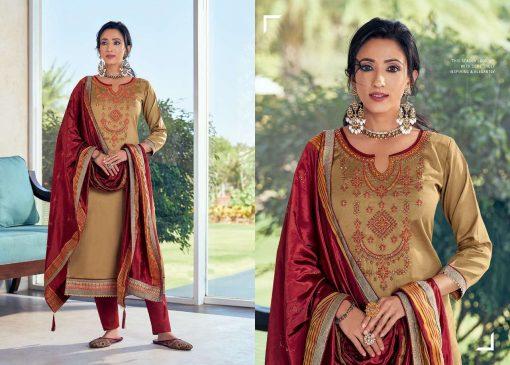 Kessi Silk Shine Vol 5 Salwar Suit Wholesale Catalog 8 Pcs 8 1 510x365 - Kessi Silk Shine Vol 5 Salwar Suit Wholesale Catalog 8 Pcs