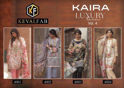 Keval Fab Kaira Luxury Vol 4 Salwar Suit Wholesale Catalog 4 Pcs 5 510x361 - Keval Fab Kaira Luxury Lawn Vol 4 Salwar Suit Wholesale Catalog 4 Pcs