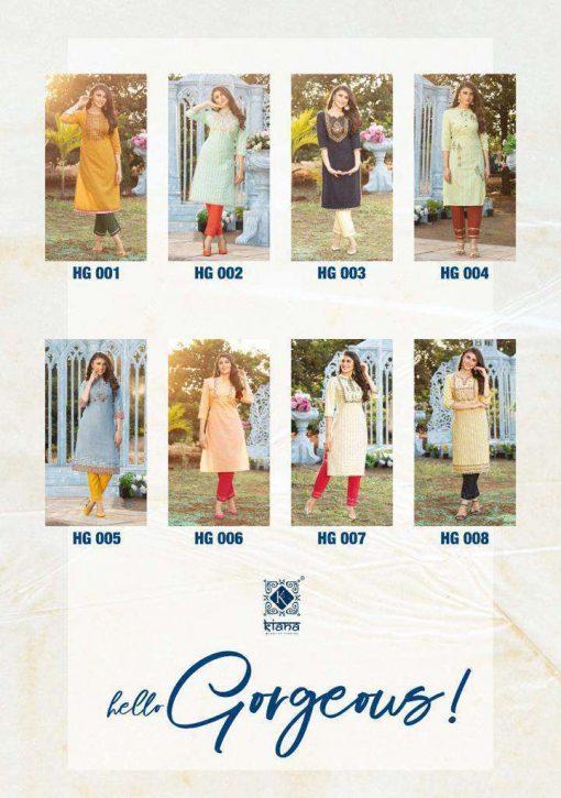 Kiana Hello Gorgeous Kurti with Pant Wholesale Catalog 8 Pcs 19 510x725 - Kiana Hello Gorgeous Kurti with Pant Wholesale Catalog 8 Pcs