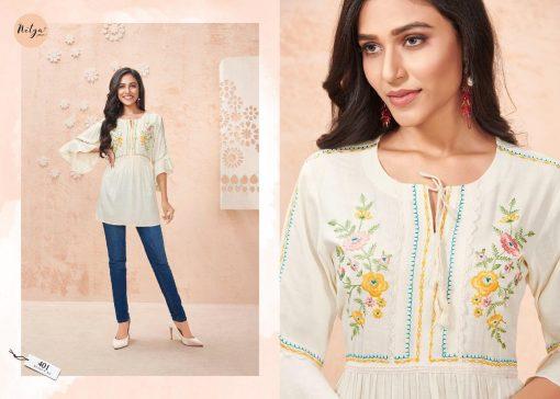 Lt Fabrics Nitya Essentials Vol 4 Tops Wholesale Catalog 8 Pcs 1 1 510x364 - Lt Fabrics Nitya Essentials Vol 4 Tops Wholesale Catalog 8 Pcs