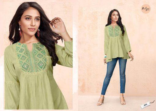 Lt Fabrics Nitya Essentials Vol 4 Tops Wholesale Catalog 8 Pcs 7 1 510x364 - Lt Fabrics Nitya Essentials Vol 4 Tops Wholesale Catalog 8 Pcs