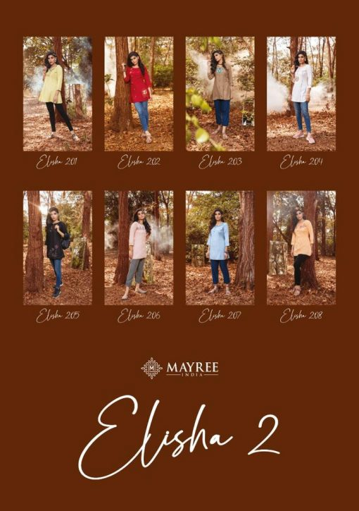 Mayree India Elisha Vol 2 Tops Wholesale Catalog 8 Pcs 22 510x725 - Mayree India Elisha Vol 2 Tops Wholesale Catalog 8 Pcs