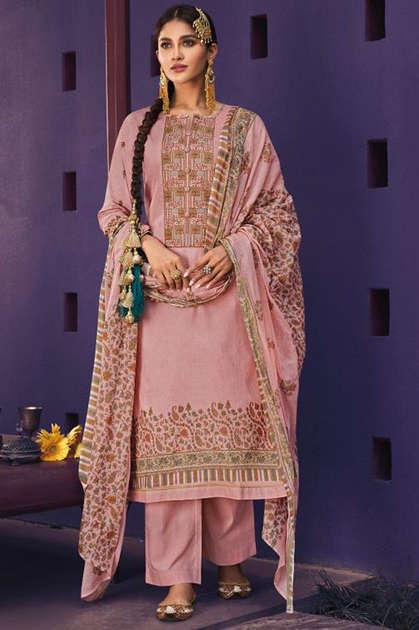 Mumtaz Arts Meera Kani Salwar Suit Wholesale Catalog 10 Pcs