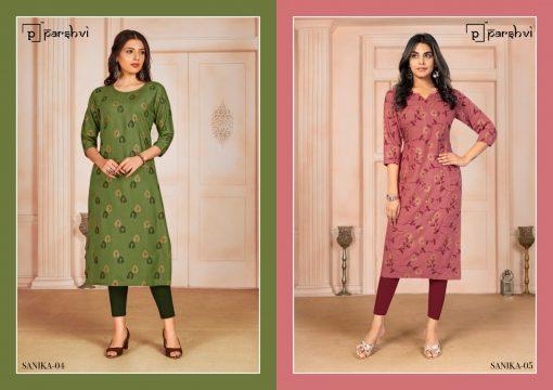 Parshvi Sanika Vol 1 by R Studio Kurti Wholesale Catalog 8 Pcs 2 1 510x360 - Parshvi Sanika Vol 1 by R Studio Kurti Wholesale Catalog 8 Pcs