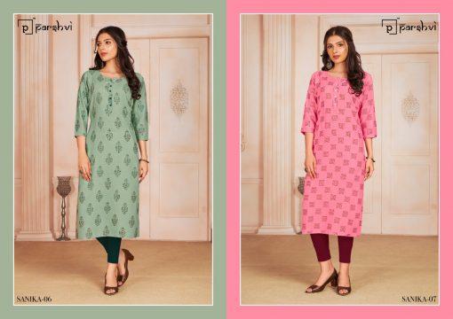 Parshvi Sanika Vol 1 by R Studio Kurti Wholesale Catalog 8 Pcs 3 1 510x360 - Parshvi Sanika Vol 1 by R Studio Kurti Wholesale Catalog 8 Pcs