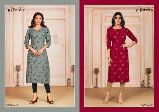 Parshvi Sanika Vol 1 by R Studio Kurti Wholesale Catalog 8 Pcs 4 510x360 - Parshvi Sanika Vol 1 by R Studio Kurti Wholesale Catalog 8 Pcs