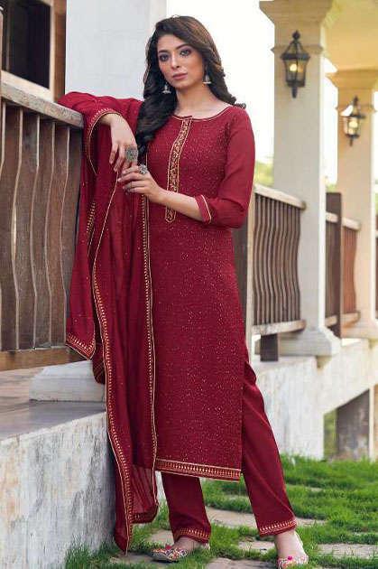 Rangoon Golden Touch by Kessi Readymade Salwar Suit Wholesale Catalog 4 Pcs