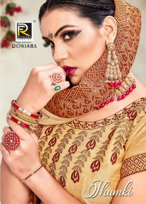 Ranjna Jhumki Saree Sari Wholesale Catalog 8 Pcs 1 510x713 - Ranjna Jhumki Saree Sari Wholesale Catalog 8 Pcs