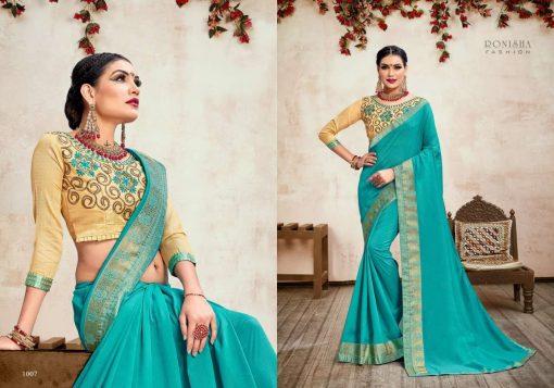 Ranjna Jhumki Saree Sari Wholesale Catalog 8 Pcs 5 510x357 - Ranjna Jhumki Saree Sari Wholesale Catalog 8 Pcs