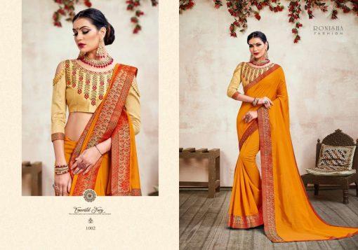 Ranjna Jhumki Saree Sari Wholesale Catalog 8 Pcs 6 510x357 - Ranjna Jhumki Saree Sari Wholesale Catalog 8 Pcs