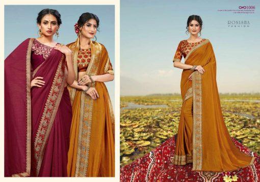 Ranjna Misba Saree Sari Wholesale Catalog 8 Pcs 5 510x357 - Ranjna Misba Saree Sari Wholesale Catalog 8 Pcs