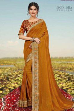 Ranjna Misba Saree Sari Wholesale Catalog 8 Pcs