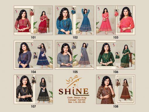 Shine Kurti Wholesale Catalog 8 Pcs 10 510x383 - Shine Kurti Wholesale Catalog 8 Pcs
