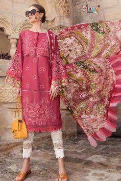 Shree Fabs Maria B Lawn Remix Salwar Suit Wholesale Catalog 6 Pcs