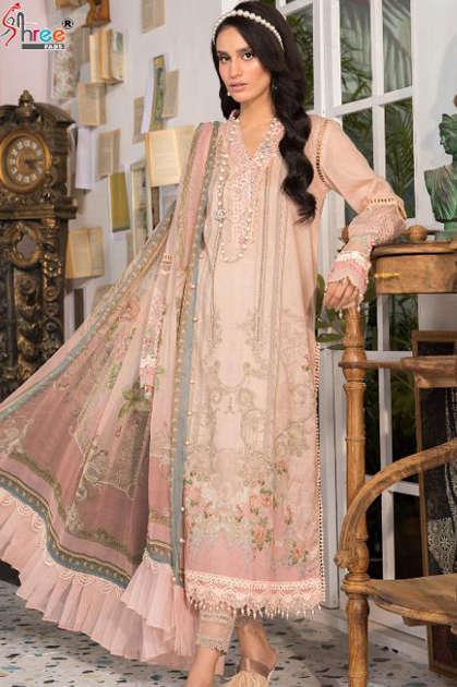 Shree Fabs Mariya B MPrint Vol 9 Salwar Suit Wholesale Catalog 8 Pcs