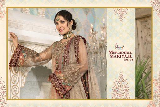 Shree Fabs Mbroidered Mariya B Vol 14 Salwar Suit Wholesale Catalog 5 Pcs 1 510x340 - Shree Fabs Mbroidered Mariya B Vol 14 Salwar Suit Wholesale Catalog 5 Pcs