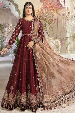 Shree Fabs Mbroidered Mariya B Vol 14 Salwar Suit Wholesale Catalog 5 Pcs