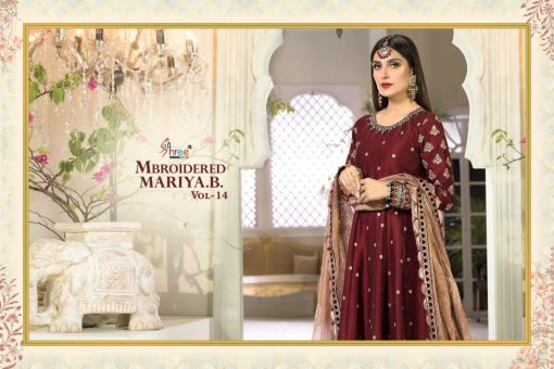 Shree Fabs Mbroidered Mariya B Vol 14 Salwar Suit Wholesale Catalog 5 Pcs 5 510x340 - Shree Fabs Mbroidered Mariya B Vol 14 Salwar Suit Wholesale Catalog 5 Pcs