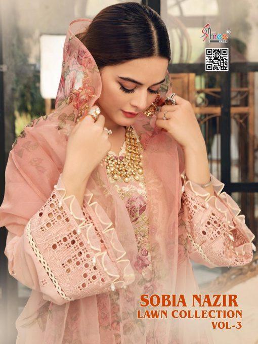 Shree Fabs Sobia Nazir Lawn Collection Vol 3 Salwar Suit Wholesale Catalog 7 Pcs 1 510x680 - Shree Fabs Sobia Nazir Lawn Collection Vol 3 Salwar Suit Wholesale Catalog 7 Pcs