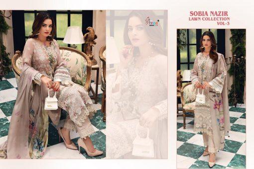 Shree Fabs Sobia Nazir Lawn Collection Vol 3 Salwar Suit Wholesale Catalog 7 Pcs 15 510x340 - Shree Fabs Sobia Nazir Lawn Collection Vol 3 Salwar Suit Wholesale Catalog 7 Pcs