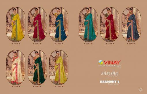 Vinay Sheesha Harmony Vol 4 Saree Sari Wholesale Catalog 9 Pcs 14 510x327 - Vinay Sheesha Harmony  Vol 4 Saree Sari Wholesale Catalog 9 Pcs