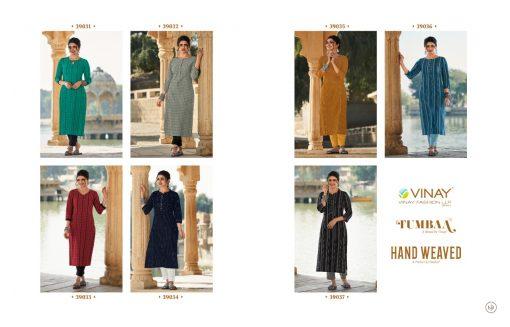 Vinay Tumbaa Hand Weaved Kurti with Pant Wholesale Catalog 7 Pcs 9 510x327 - Vinay Tumbaa Hand Weaved Kurti with Pant Wholesale Catalog 7 Pcs