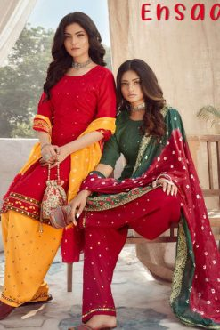 Z Black Ehsaas Readymade Salwar Suit Wholesale Catalog 6 Pcs